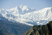 Mustang Art - A View Of Annapurna I From The North by Stephen Sharnoff