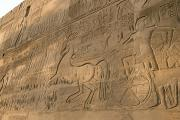 Architectural Details Photo Prints - A View Of Hieroglyphics On The Wall Print by Kenneth Garrett