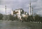 A View Of Sancta Sophia From Arcoss Print by Maynard Owen Williams