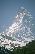 Europe Photo Framed Prints - A View Of The Majestic Matterhorn Framed Print by Gordon Wiltsie