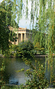 Nashville Park Framed Prints - A View of the Parthenon 1 Framed Print by Douglas Barnett