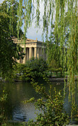 Nashville Park Prints - A View of the Parthenon 3 Print by Douglas Barnett