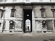 Anna Villarreal Garbis Prints - A View of The Royal Naval College Print by Anna Villarreal Garbis