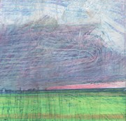 Bay Pastels Prints - A view towards Pilling  Print by Andy  Mercer