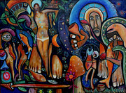 Religious Art Painting Originals - A Vision of Christ by Andrew Osta