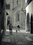 Turin Photo Prints - A walk back in time Print by Carl Jackson