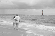 Bonnes Eyes Fine Art Photography Art - A walk on the beach by Bonnes Eyes Fine Art Photography