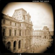 Toy Camera Digital Art Framed Prints - A Walk Through Paris 20 Framed Print by Mike McGlothlen