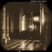 Holga Camera Prints - A Walk Through Paris 26 Print by Mike McGlothlen