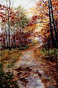 Award Pastels Originals - A Walk To Remember by Mary Giacomini