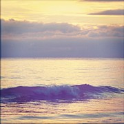 Mauve Photos - A wave by Alexandra Cook