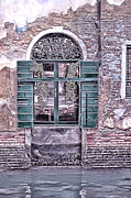 Venice Photo Prints - A Window in Venice Print by Tom Prendergast