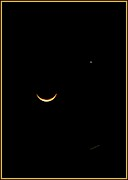 Crescent Moon Photos - A Wink and A Smile by DigiArt Diaries by Vicky Browning