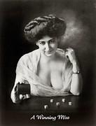 A Winning Miss 1911 Print by Padre Art