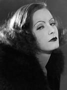 Ev-in Metal Prints - A Woman Of Affairs, Greta Garbo Metal Print by Everett