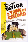 1938 Movies Posters - A Yank At Oxford, Maureen Osullivan Poster by Everett
