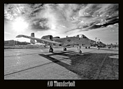 Usaf Photo Framed Prints - A10 Thunderbolt Framed Print by Greg Fortier