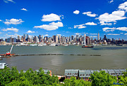 Financial Digital Art Originals - AAB Midtown Manhattan New York City Skyline by Miller Photostudio