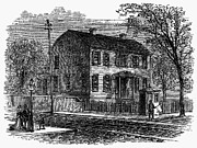 Aaron Burr: Birthplace Print by Granger