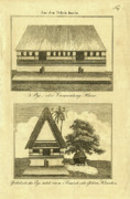 Architecture Drawings - Abai on Palau by Artist Unknown
