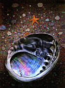 Sea Shell Art Prints - Abalone Print by Robert Foster