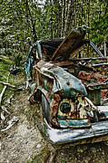 Abandon Car Print by Greg Horler