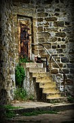 Stone Steps Framed Prints - Abandon hope Framed Print by Paul Ward