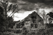 Brenda Bryant Photo Prints - Abandoned Barn Print by Brenda Bryant
