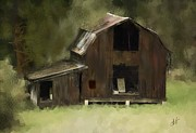 Abandoned Barn Print by Dale Stillman