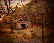 Abandoned Barn Prints - Abandoned Barn Print by Jai Johnson