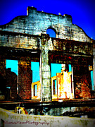 Alcatraz Prints - Abandoned Barracks of Alcatraz Print by Rhonda DePalma