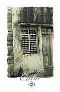 Weathered Shutters Framed Prints - Abandoned Framed Print by Bob Salo