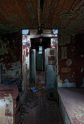 Caboose Photo Prints - Abandoned Caboose Print by Murray Bloom