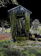 Shed Digital Art Metal Prints - Abandoned Metal Print by Cindy Roesinger