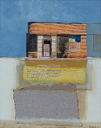 Strip Mixed Media - Abandoned Cuervo NM by Eric Engstrom