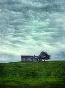 Clapboard House Prints - Abandoned Farmhouse Print by Jill Battaglia