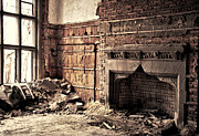 Joanne Coyle - Abandoned Fireplace