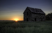 Azriel Knight - Abandoned Home at Sunset