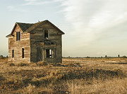 Cheney Posters - Abandoned Homestead - Eastern Washington Poster by Daniel Hagerman