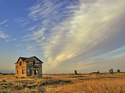 Cheney Prints - Abandoned Homestead - Fishtrap Lake - Eastern Washington Print by Daniel Hagerman