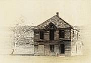Abandoned Homestead - Okanogan Washington Print by Daniel Hagerman