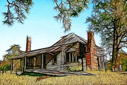 Abandoned Homestead Print by Brian Gunter