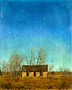 Dismal Framed Prints - Abandoned House Framed Print by Jill Battaglia