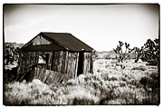 Abandoned School Prints - Abandoned in Mojave Print by John Rizzuto
