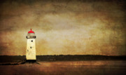 Warning Art - Abandoned Lighthouse by Meirion Matthias