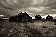 Homestead Prints - Abandoned Print by Mike  Dawson