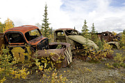 Old Objects Prints - Abandoned Military Vehicles Print by Pete Ryan