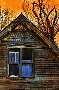 Haunted House Photo Posters - Abandoned Old House Poster by Jill Battaglia