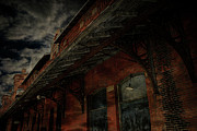 Abandoned Train Posters - Abandoned Train Station Poster by Scott Hovind