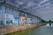 Montreal Streets Metal Prints - Abandoned Warehouse Metal Print by Mike Horvath